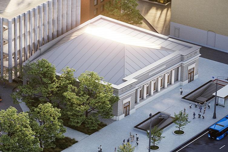 Москомархитектура согласовала проект Forum1914