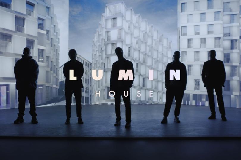 Hutton сняли ролик о свете, архитектуре и digital-пространстве проекта LUMIN