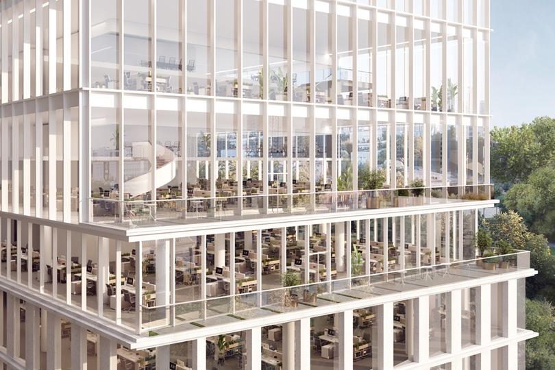 Новый бизнес-центр GEOLOG на Юго-Западе Москвы