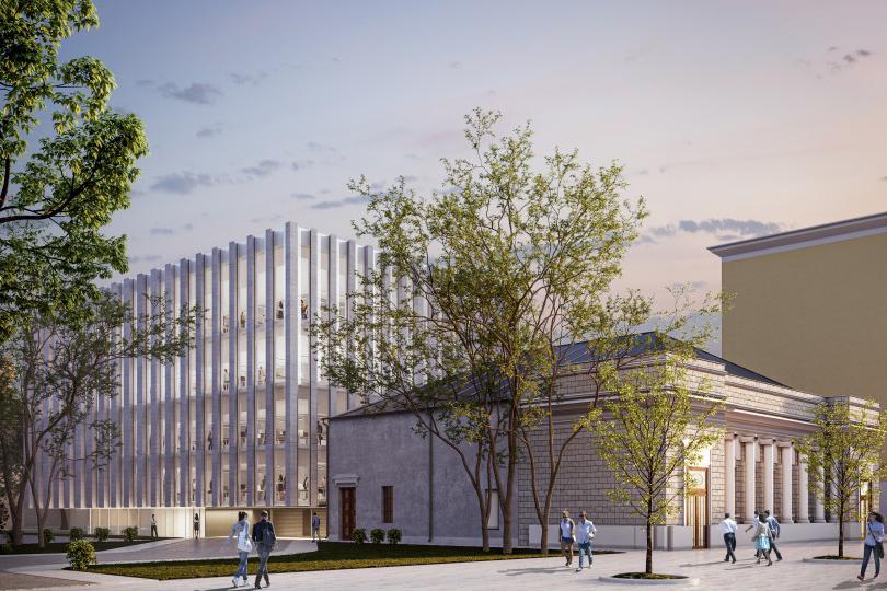 Hutton займется исторической реконструкцией электротеатра «Форум»